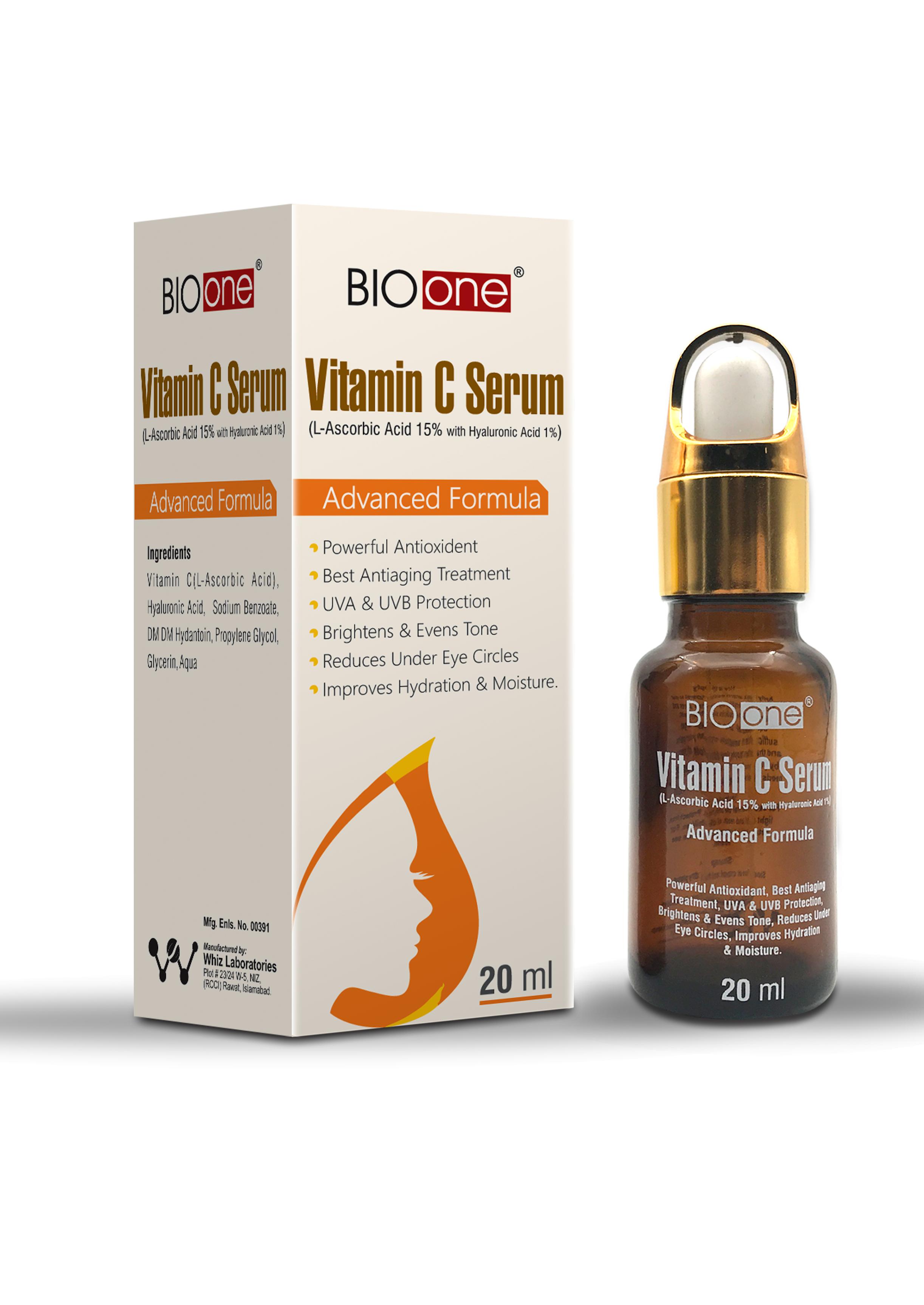 Bio One Vitamin C Serum Whiz Laboratories